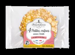 Petites crêpes saveur vanille