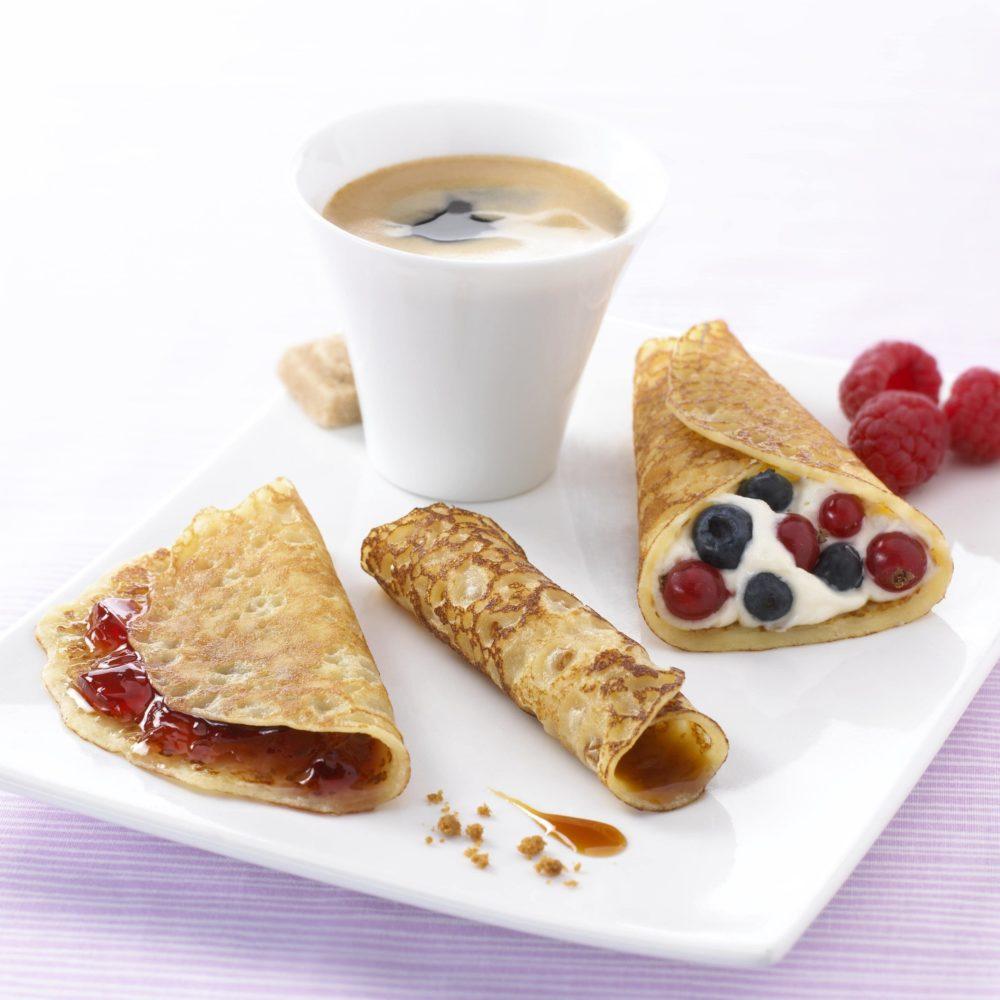 Café gourmand de crêpes