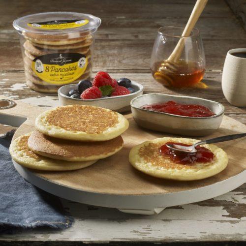 Pancakes confiture
